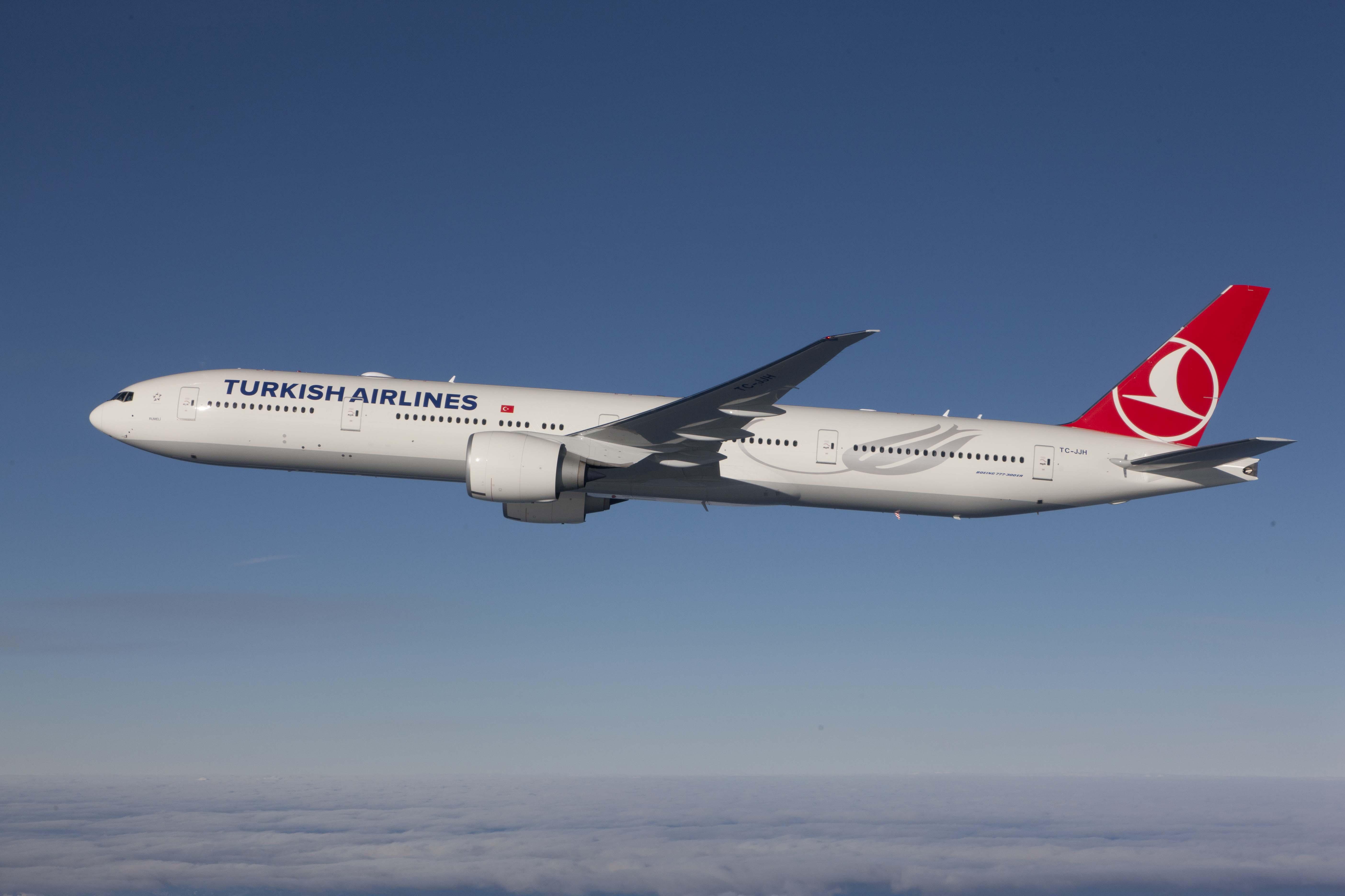 مكاتب وفروع الطيران التركي في الإمارات
