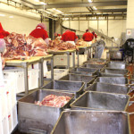 Processing meat