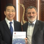 HE Wu Hailong, newly appointed P.R.C. Ambassador to the European Union, receives the Position Paper