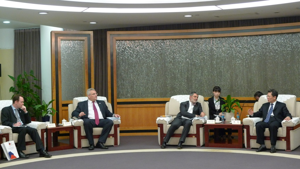 Meeting with Shenzhen Vice Mayor
