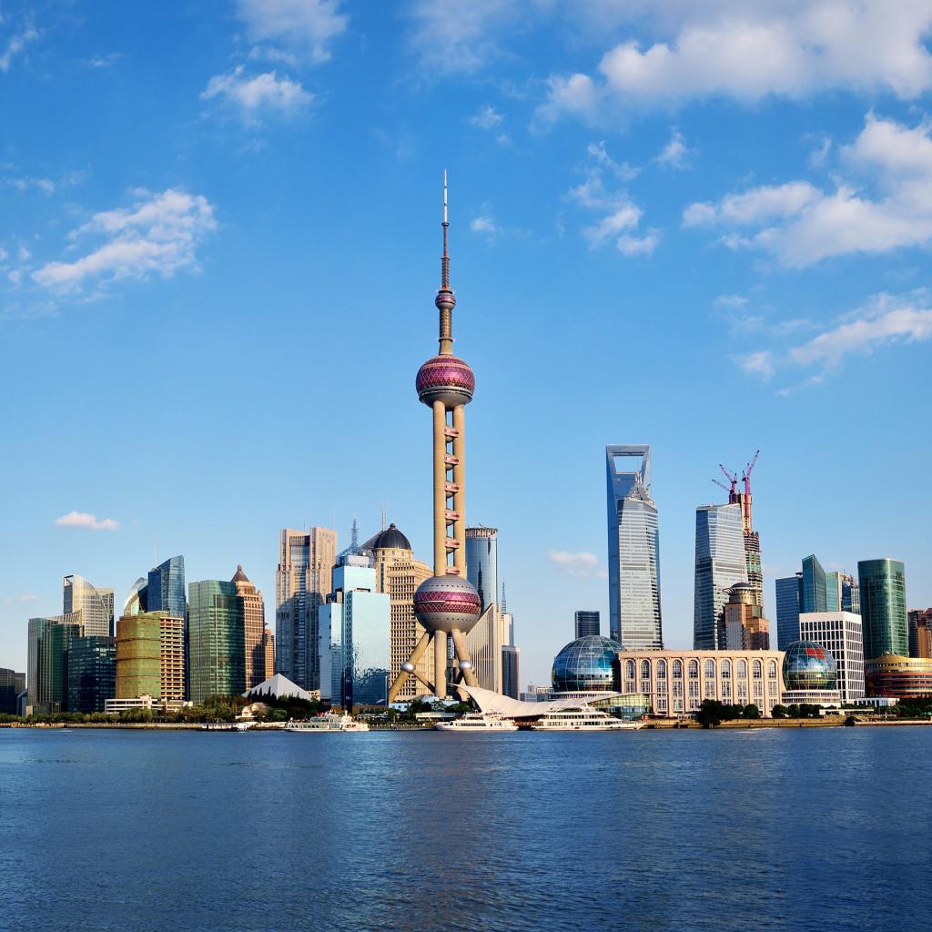 Shanghai, Free Trading Zone, Thinkstock156339482