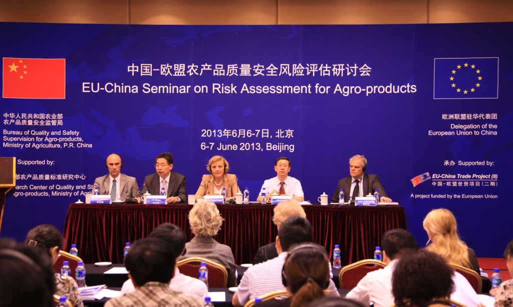EU-China Seminar on Risk Assessment for Agro-products