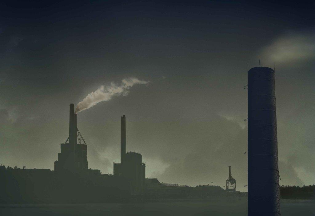 Industrial pollution web