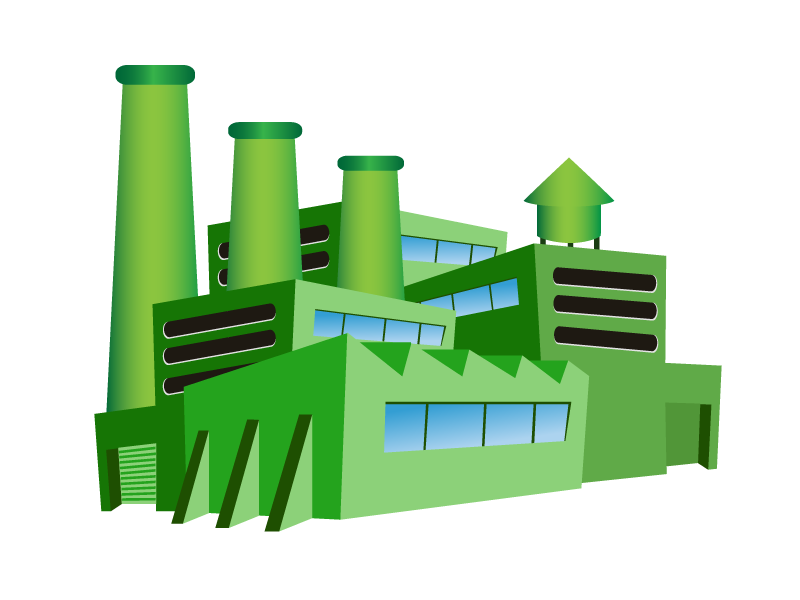 green-cartoon-factory