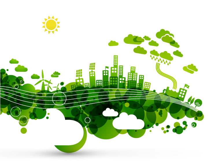 green-city-illustration